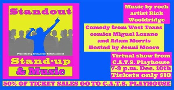 Standout Stand-up & Music image
