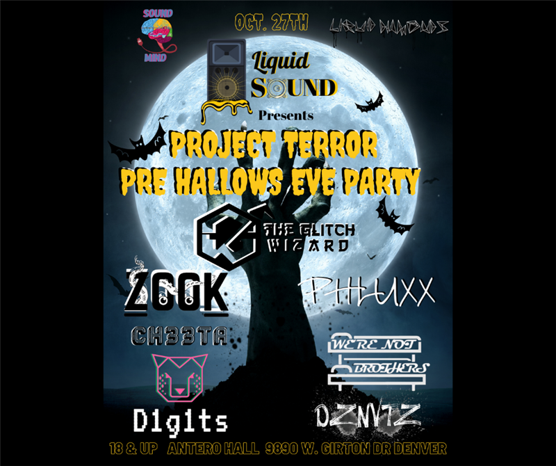 Project Terror Pre Hallows Eve Party