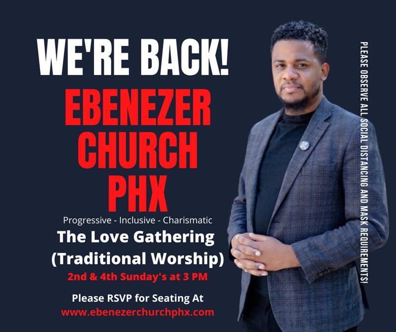 The Love Gathering at Ebenezer Church -PHX