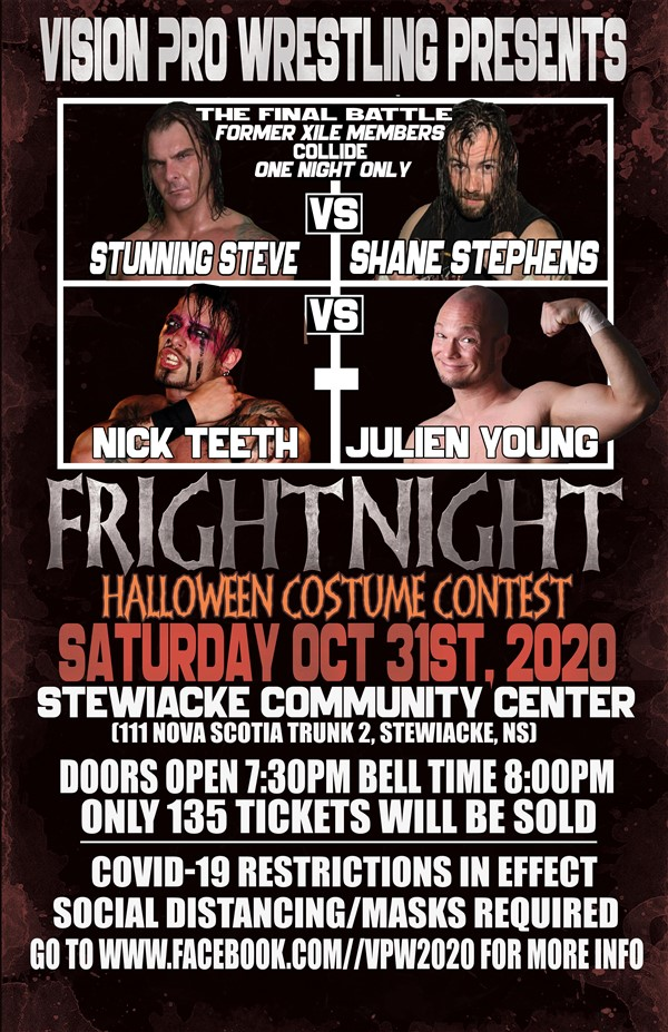 Vision Pro Wrestling Presents: FRIGHTNIGHT