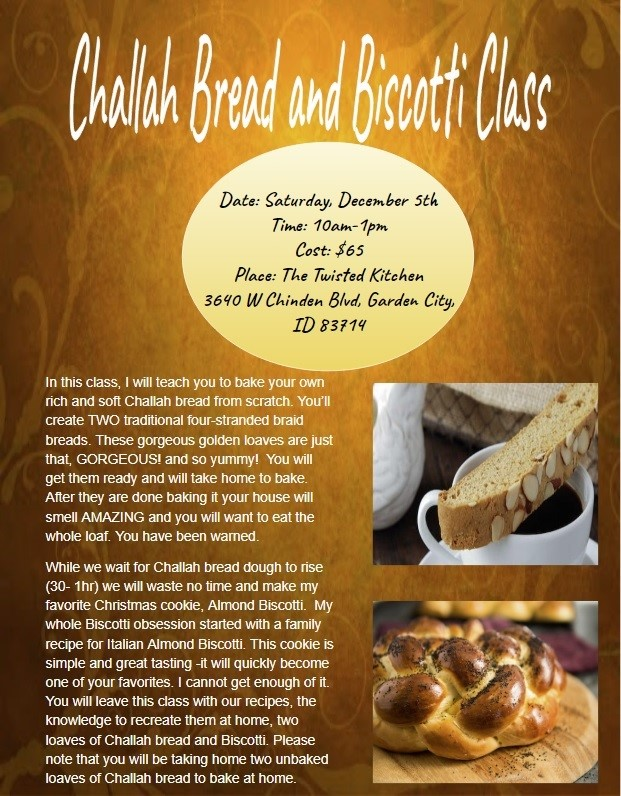 Holiday Bread and Cookie Making image