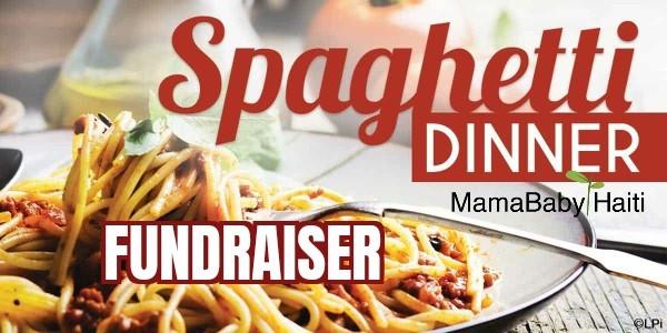 MamaBaby Haiti Spaghetti Fundraiser