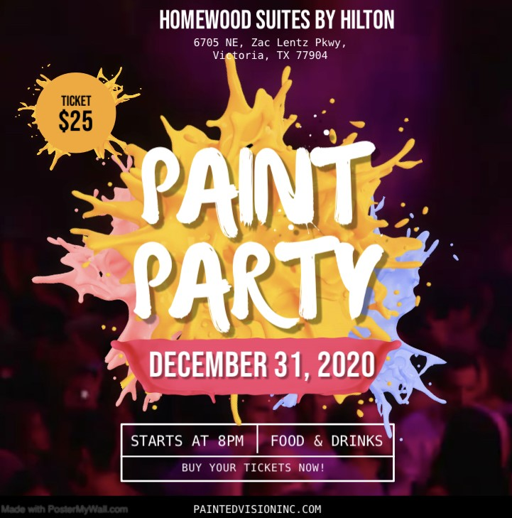 2021 New Year's Paint Party