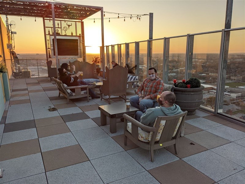 CC's Rooftop Dining 11/20/2020