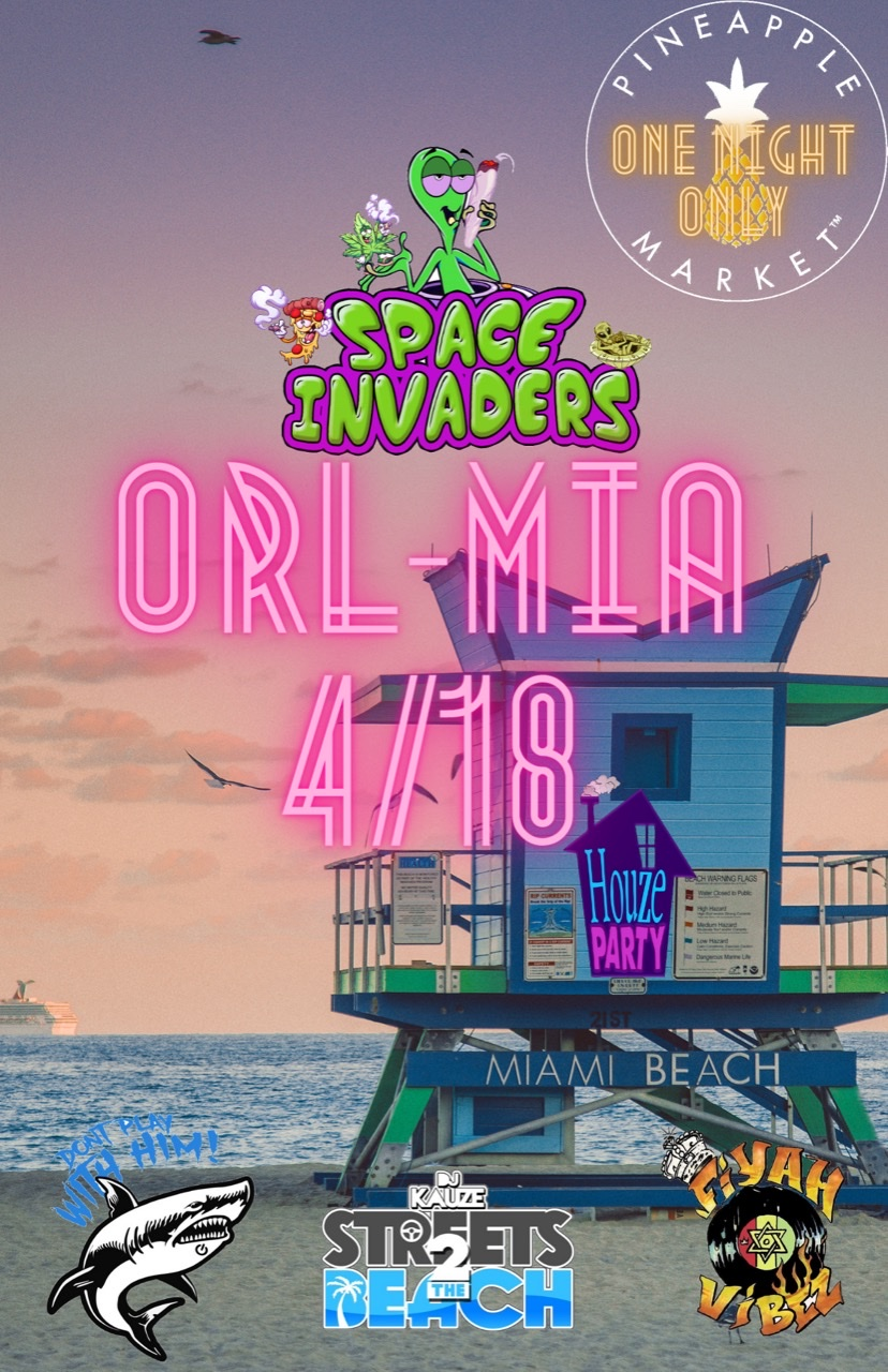Pineapplemarket presents Space Invaders image