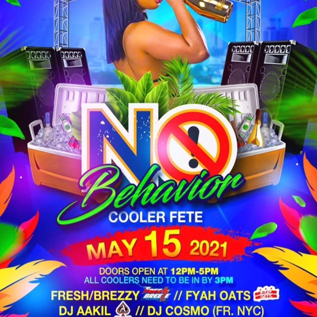 No Behavior Cooler Fete BYOB Bring Your Own Bottle on may. 15, 12:00@6855 Deer Path Rd, Elkridge, MD - Buy tickets and Get information on www.fetefinders.com tickets.fetefinders.com