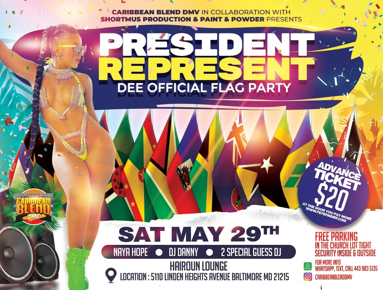 REPRESENT. DEE OFFICIAL FLAG PARTY on May 29, 20:00@Hairoun Lounge - Buy tickets and Get information on www.fetefinders.com tickets.fetefinders.com