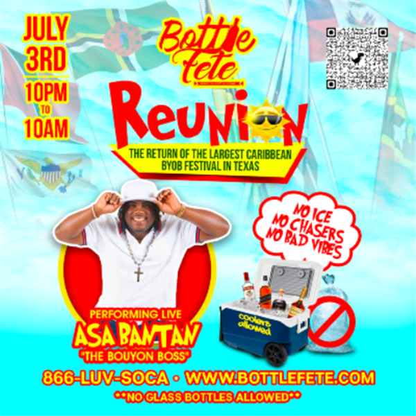 BOTTLE FETE Largest Caribbean BYOB Festival on Jul 03, 22:00@Bottle Fete Village - Buy tickets and Get information on www.fetefinders.com tickets.fetefinders.com