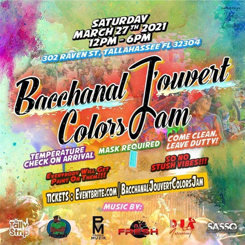 Bacchanal Jouvert Colors jam
