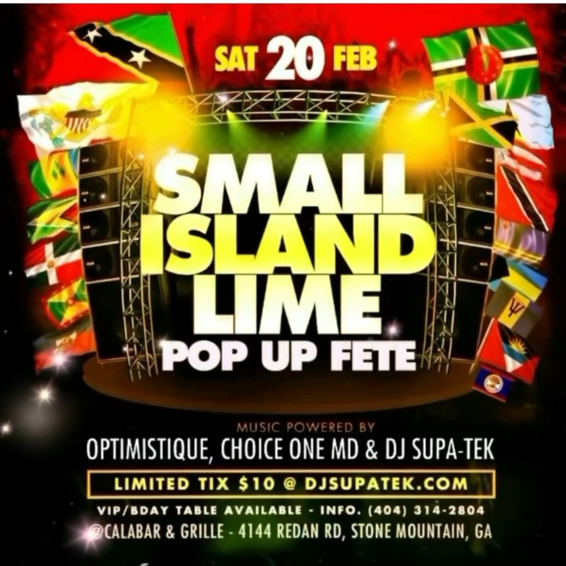 Small Island Lime Pop Up Fete