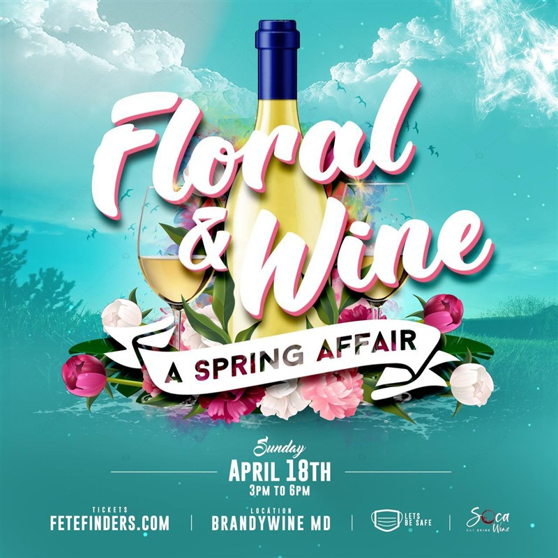 Get Information and buy tickets to FLORAL & WINE  on www.fetefinders.com