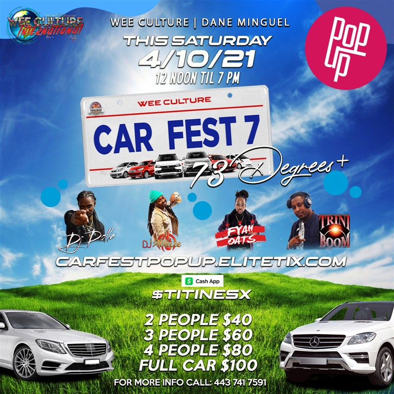 Car Fest Pop Up