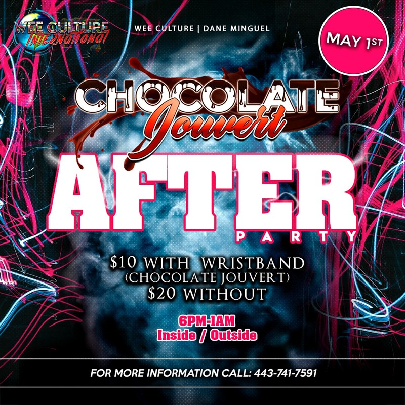 Chocolate Jouvert After Party