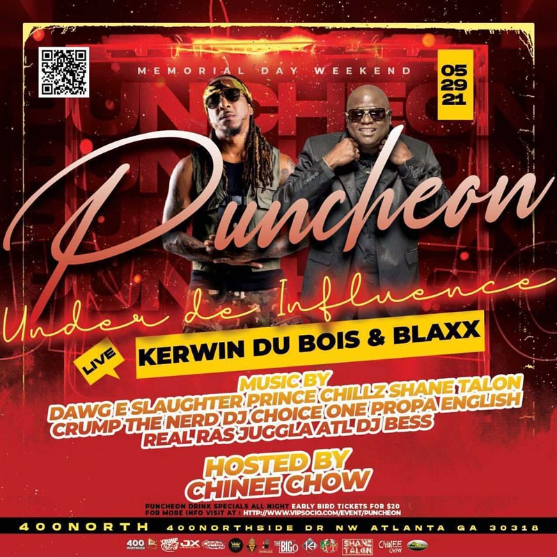 "Puncheon "" Kerwin Du Bois and Blaxx live"