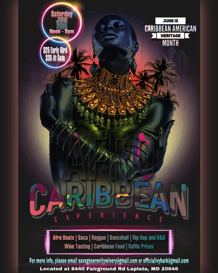 Get Information and buy tickets to Afro Caribbean Experience  on www.fetefinders.com