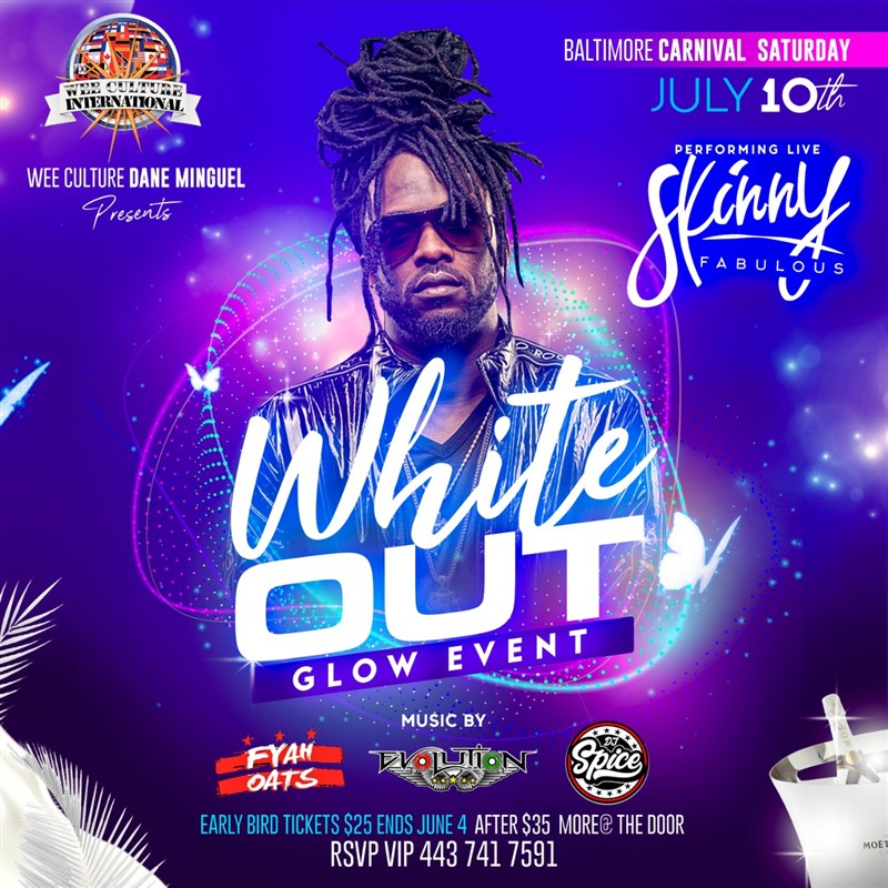 WHITE OUT GLOW EVENT