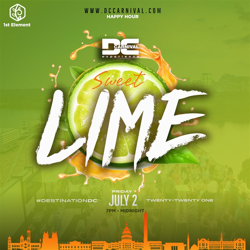 Get Information and buy tickets to After-Work Lime + Happy Hour Kick-Off to the 4th July Weekend on www.fetefinders.com