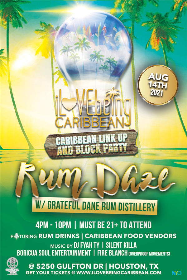 Get Information and buy tickets to Rum Daze: Caribbean Link Up & Block Party  on www.fetefinders.com