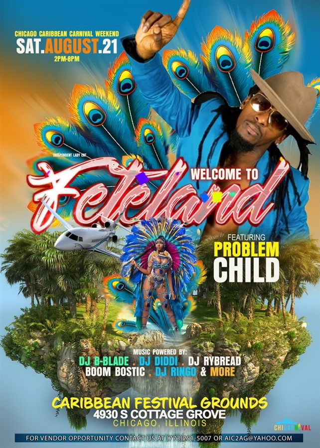 Get Information and buy tickets to FETELAND  on www.fetefinders.com