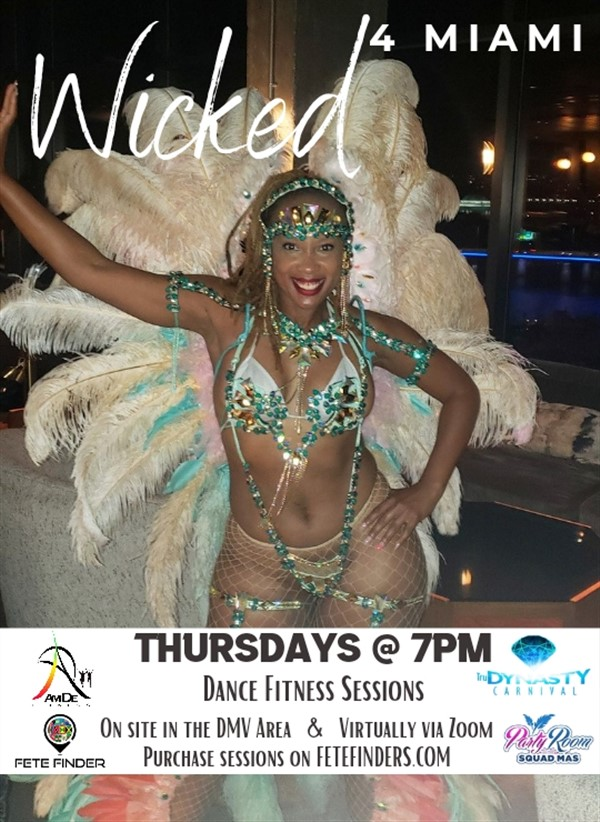 Get Information and buy tickets to Wicked 4 MIAMI Dance Fitness Sessions on www.fetefinders.com