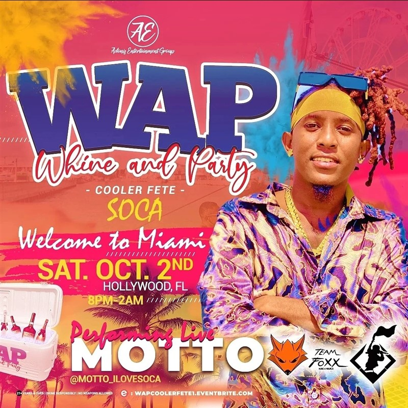 W.A.P Whine and Party Cooler Fete