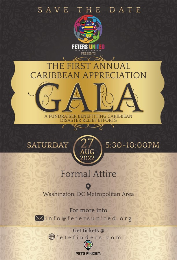 Get Information and buy tickets to Caribbean Appreciation GALA  on www.fetefinders.com