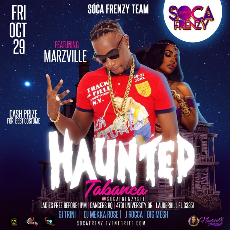 Get Information and buy tickets to Soca Frenzy  on www.fetefinders.com