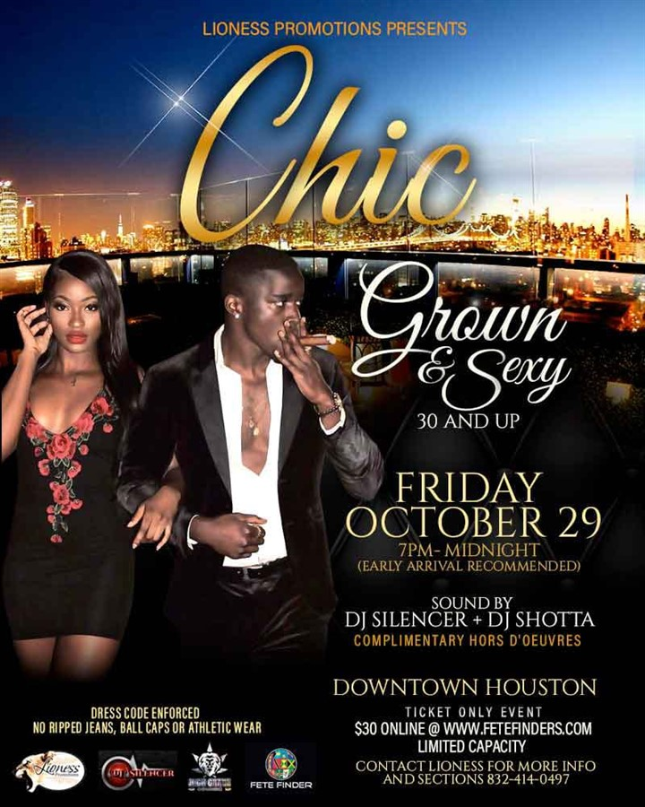 Get Information and buy tickets to Chic  on www.fetefinders.com