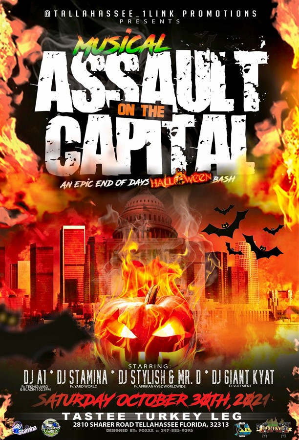 Get Information and buy tickets to Assault on the capital  on www.fetefinders.com