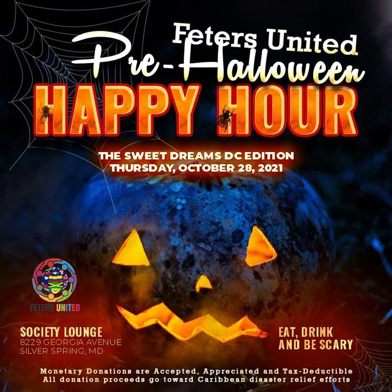 Get Information and buy tickets to Feters United Pre-Halloween Happy Hour Sweet Dreams DC Edition on www.fetefinders.com