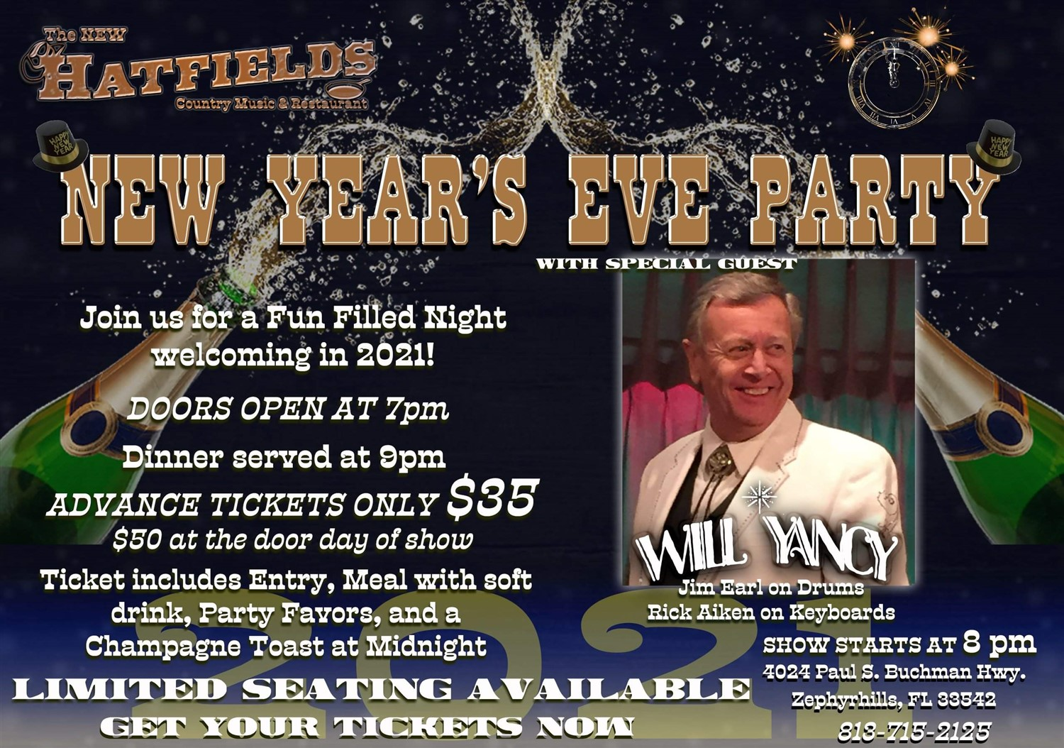 NYE with Will Yancy image