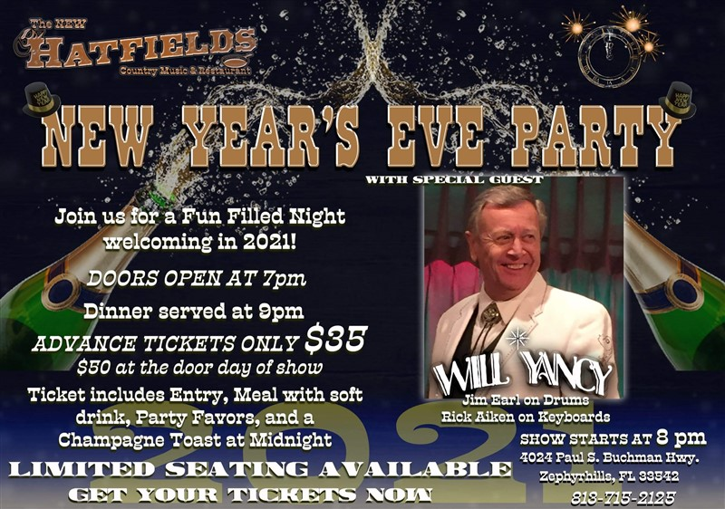 NYE with Will Yancy