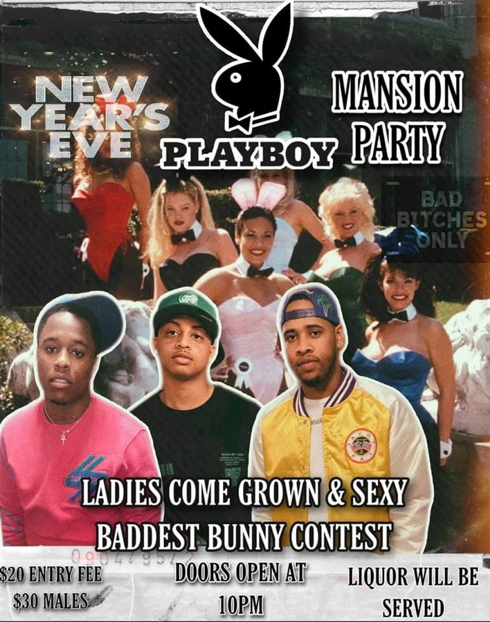 New Years Playboy Mansion Party