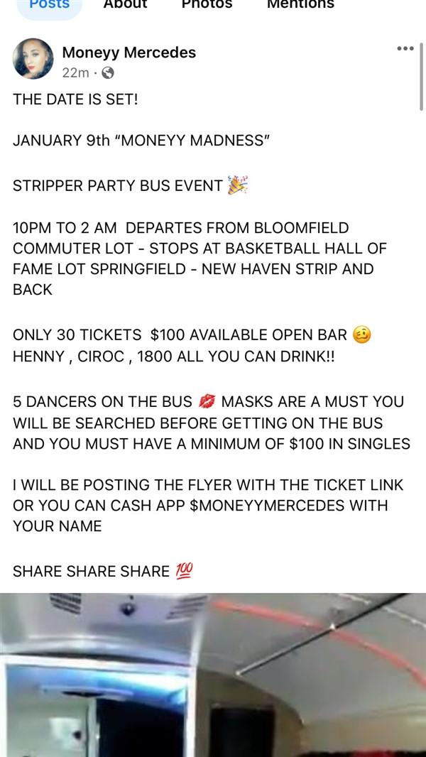 MONEYY'S STRIPPER BUS EVENT