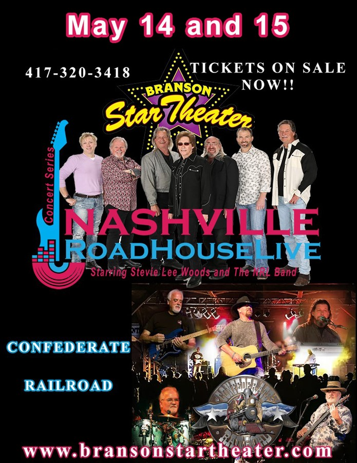 Confederate Railroad Nashville Roadhouse Live Concert Series