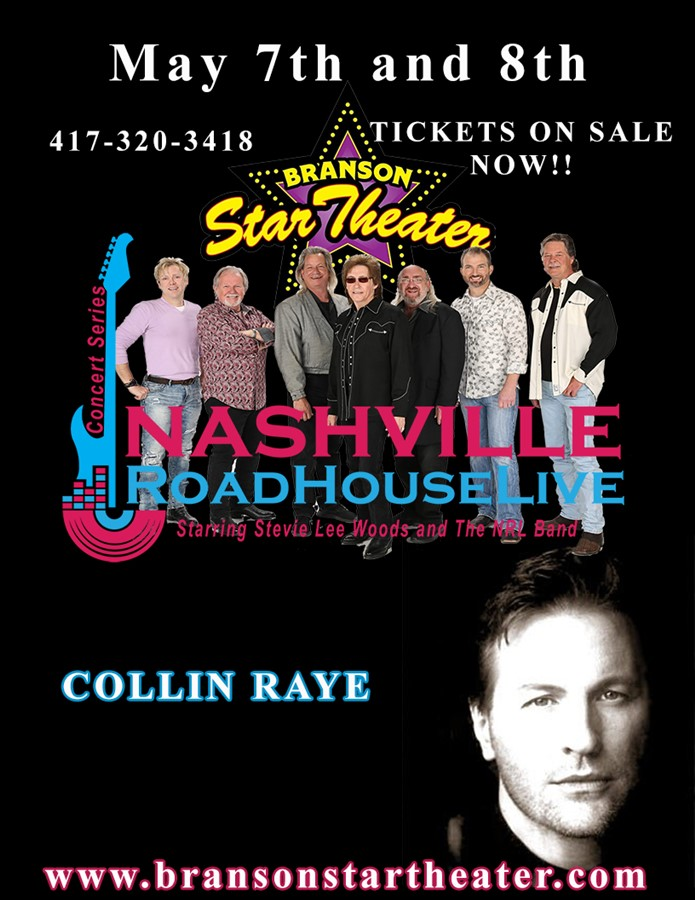Collin Raye Nashville Roadhouse Live Concert Series