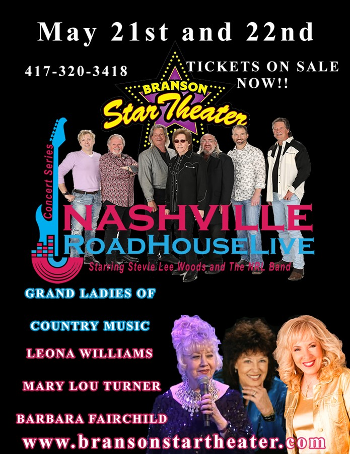 Grand Ladies Nashville Roadhouse Live Concert Series
