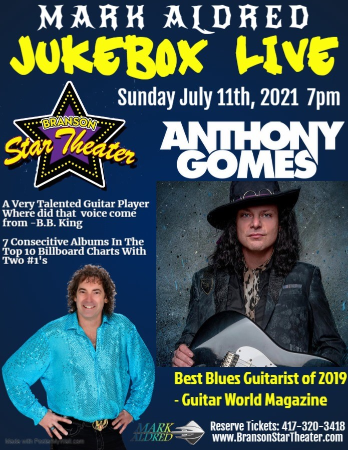 Anthony Gomes Mark Aldred's Jukebox Live