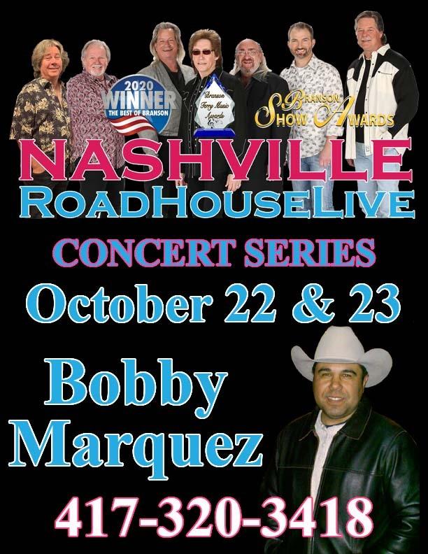 Bobby Marquez with Nashville Roadhouse Live