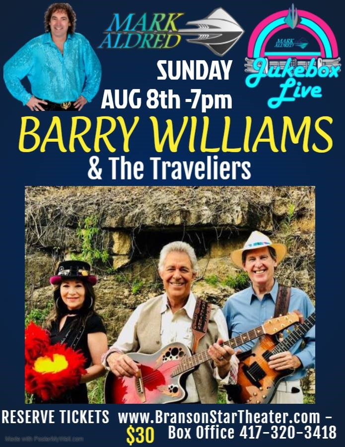 Barry Williams with Mark Aldred's Jukebox Live