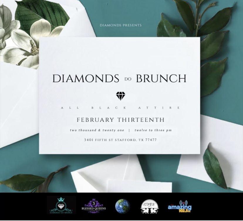 Diamonds Do Brunch  on Feb 13, 12:00@The Hendrix On 5TH - Buy tickets and Get information on www.diamondsdobrunch.com