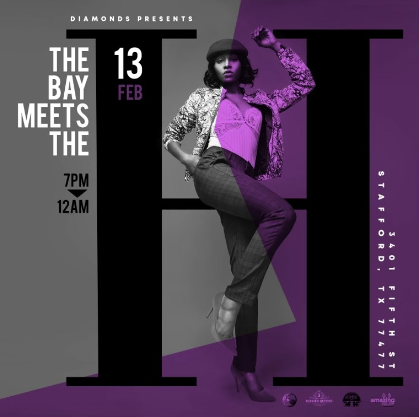 The Bay Meets The H!  on Feb 13, 19:00@The Hendrix On 5TH - Buy tickets and Get information on www.diamondsdobrunch.com