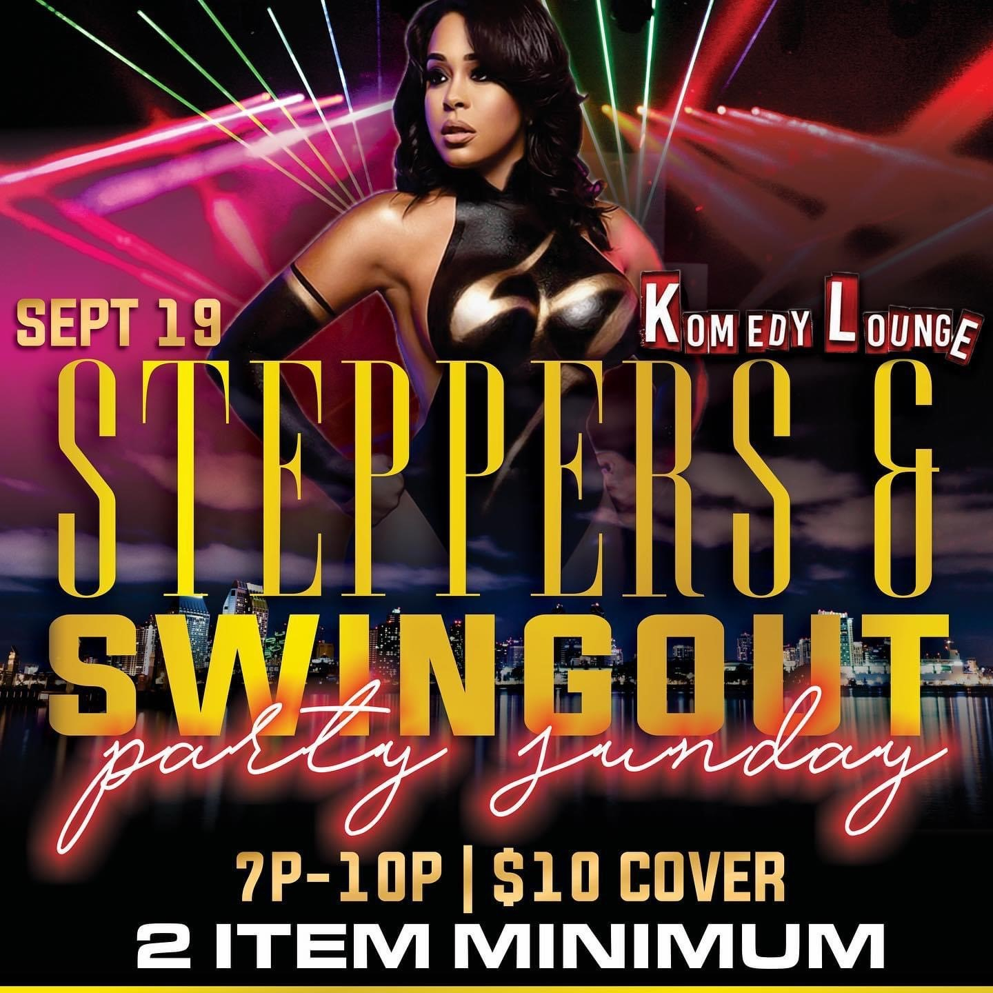 Steppers & Swingout Party  on Sep 19, 19:00@Komedy Lounge - Buy tickets and Get information on komedylounge.com