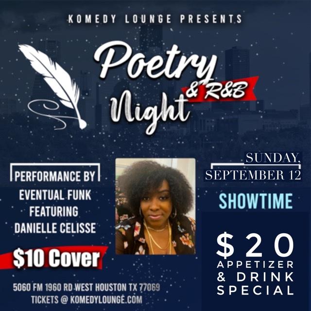 Sunday Night Poetry & R&B