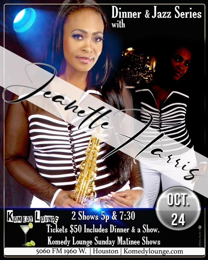Jeanette Harris 7:30 pm Show