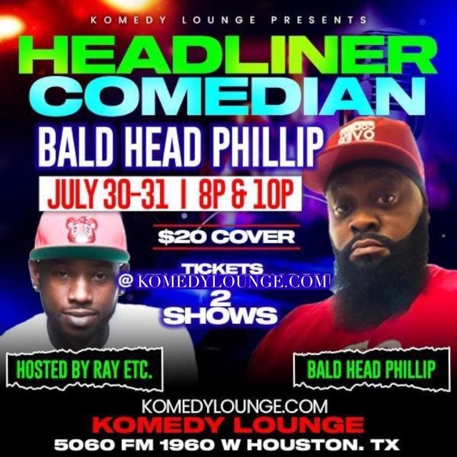 Comedian Bald Head Phillip