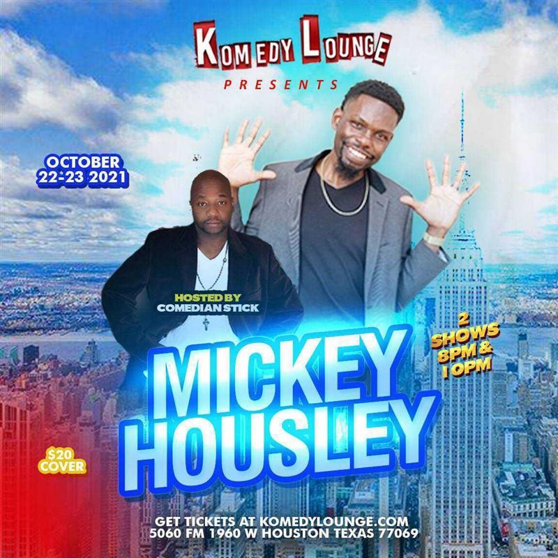 Mickey Housley  8pm