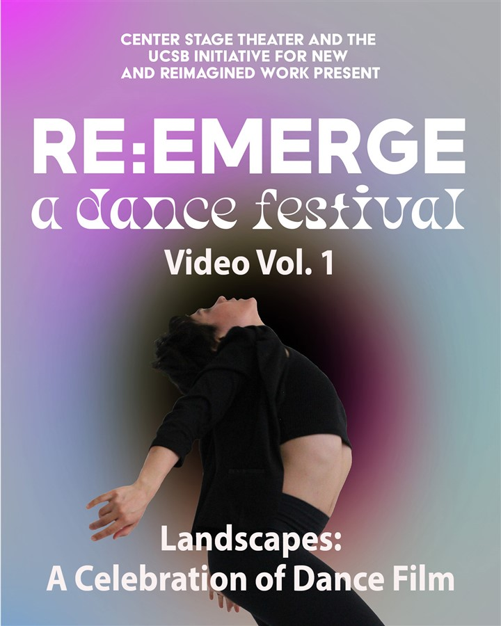 Get Information and buy tickets to Re:Emerge Festival - Video 1 Landscapes: A Celebration of Dance Films Video production of June 17 performance on Center Stage Theater