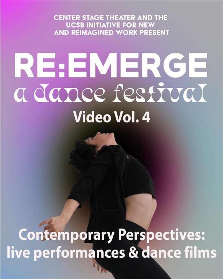 Get Information and buy tickets to Re:Emerge Festival Video Vol. 4 - Contemporary Perspectives Video production of June 20 performance on Center Stage Theater