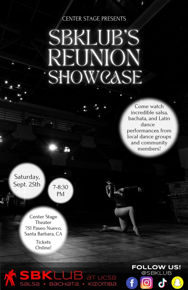 Get Information and buy tickets to SBKLUB's Reunion Showcase PROOF OF VACCINE OR NEGATIVE TEST REQUIRED on Center Stage Theater
